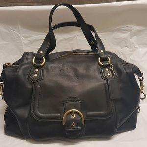 Coach Campbell Large Leather Sachel Handbag F25151